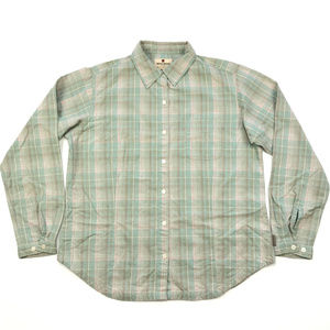 Woolrich Petite Long Sleeve Plaid Flannel Shirt